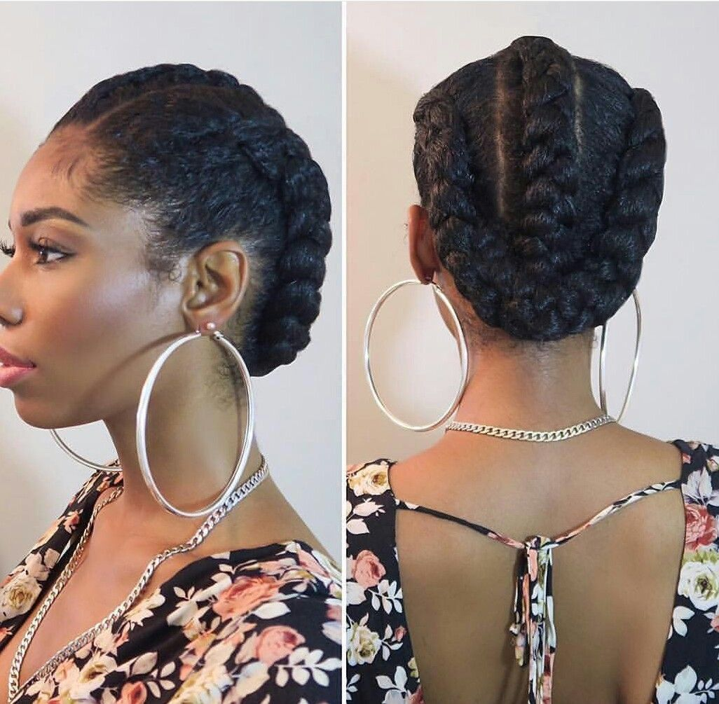 Idee coiffure cheveux afro court