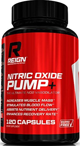 Cheap Nitric Oxide Pump+ – Powerful N O  Pre Workout w/ L-Arginine