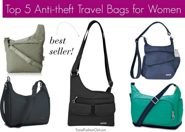 The Best Anti-theft Travel Bags for Women 2017- Best Sellers ...