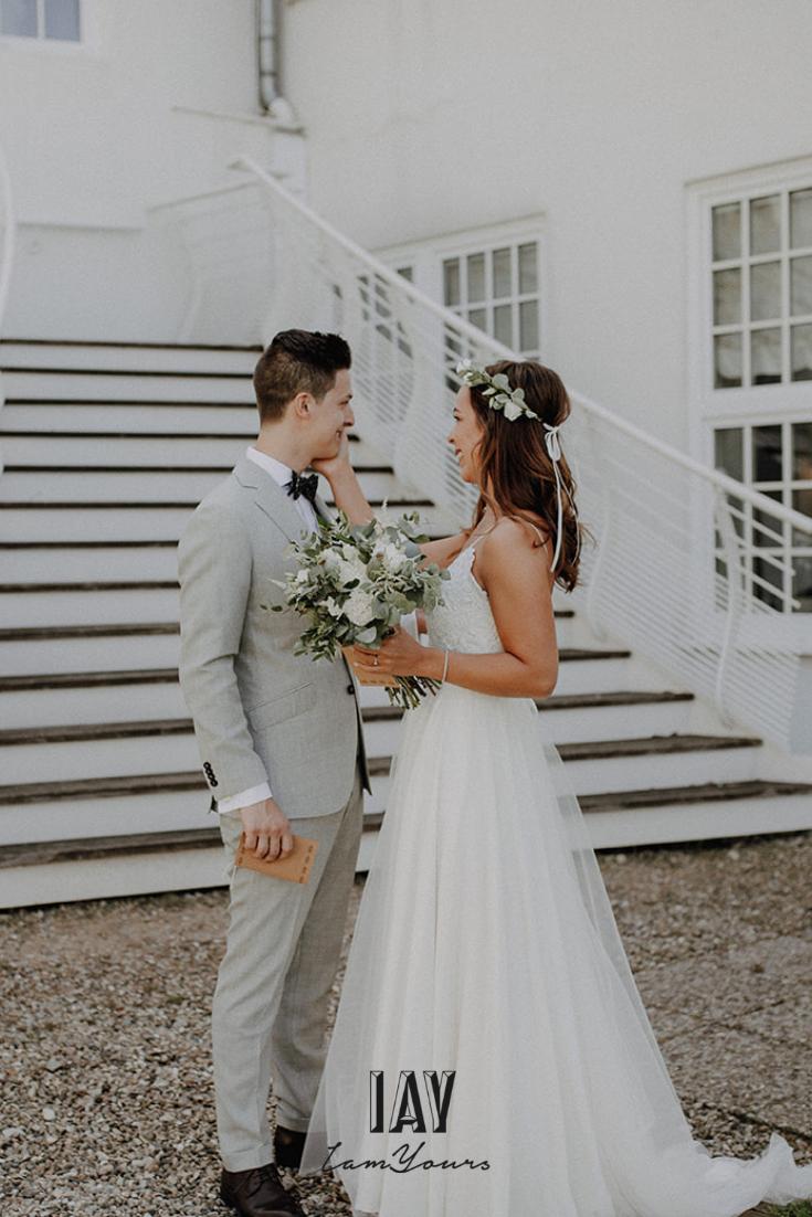 IAY Real Bride Lena and Hubby Julian  Boho braut, Braut