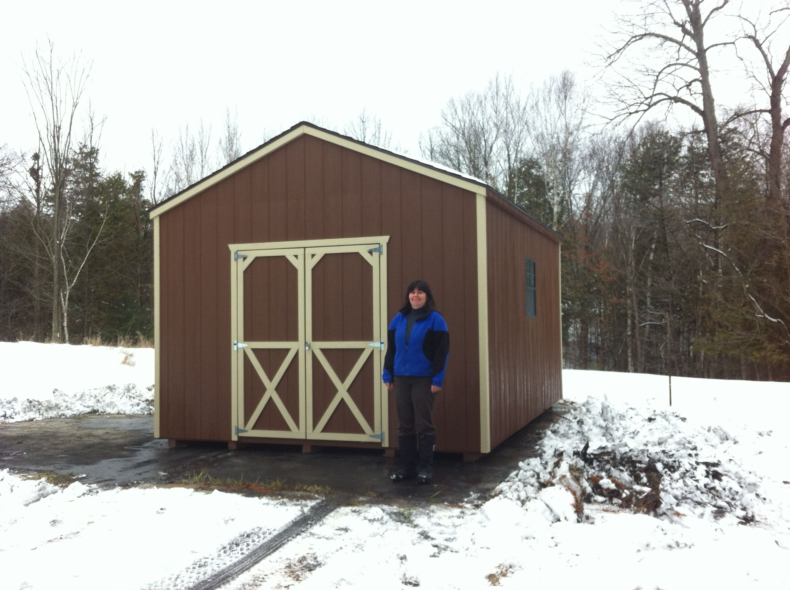 Find This Pin And More On Prefab Garden Sheds.