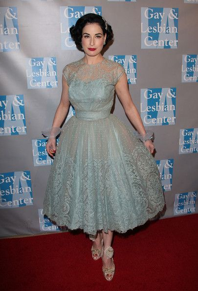 681b2f3b8361 Dita Von Teese Photos Photos - Dita Von Teese arrives at An Evening With  Women