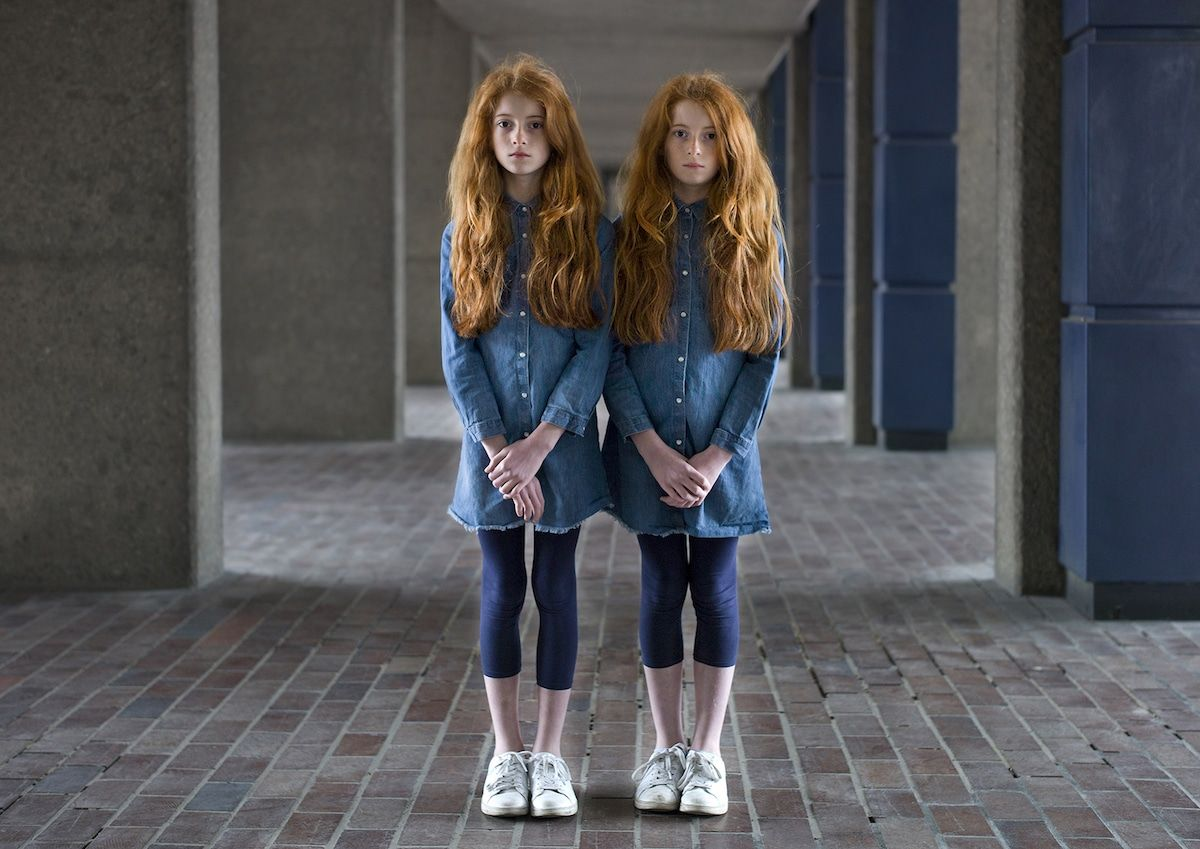 Thought Provoking Portraits Of Identical Twins Reveal Their