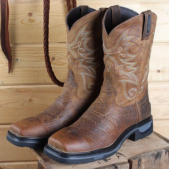 e044451956b Tony Lama Men's TLX Waterproof Composite Square Toe Work Boot Tw4006 ...