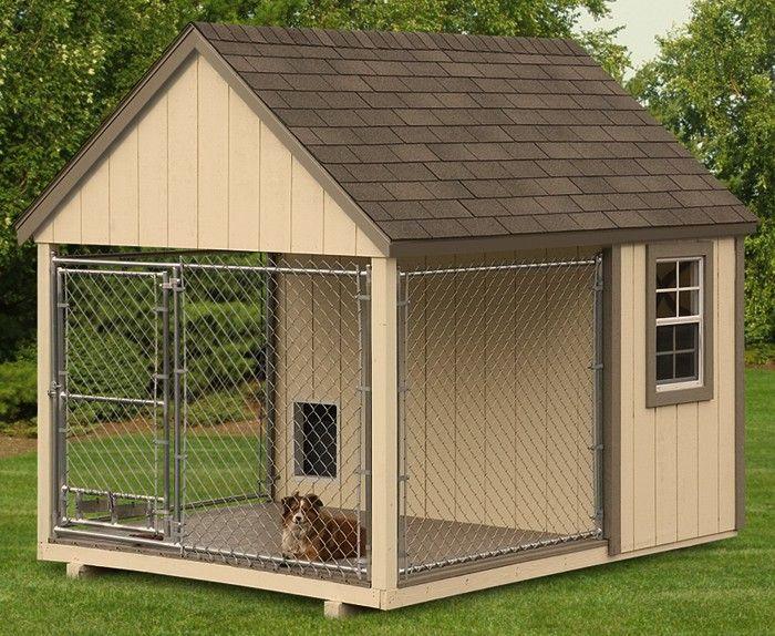 8x10 k9 kastle dog shed idea pinterest dog friendly for Carport dog kennels