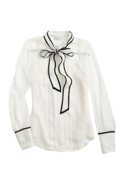 ad41d8c9427193 J.Crew Secretary Bow Blouse. | Beauty is in the eye of the beholder ...