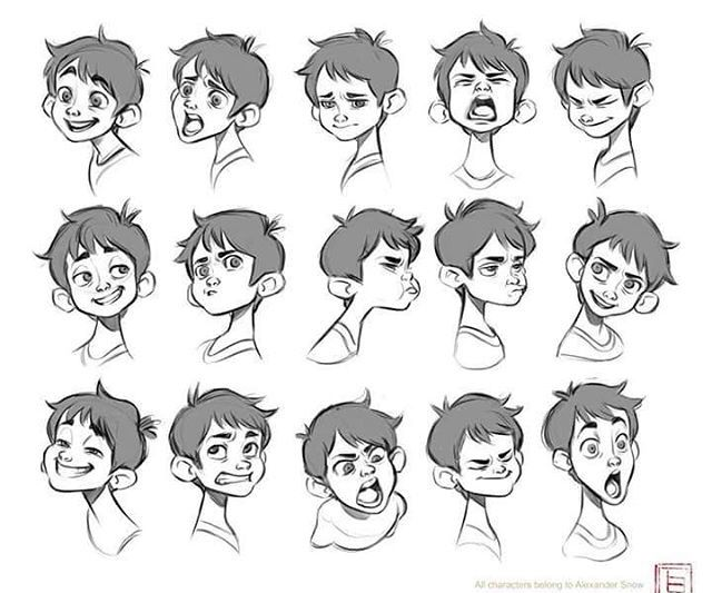 Xterm Line Drawing Characters : Emotions character design pinterest characters