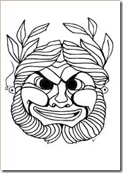 Επίσης μπορείτε να φτιάξετε αρχαίες ελληνικές μάσκες τις