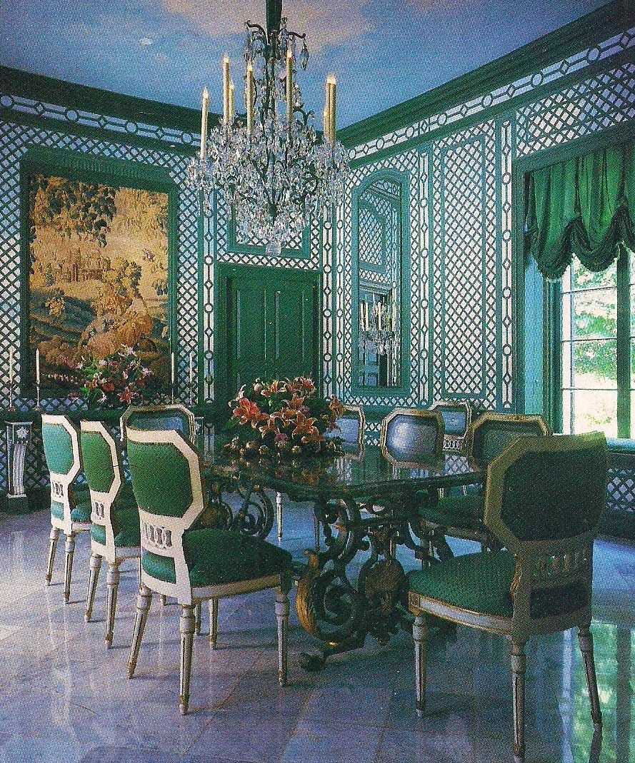 The Dining Room, Candib Residence, Miami Beach, As