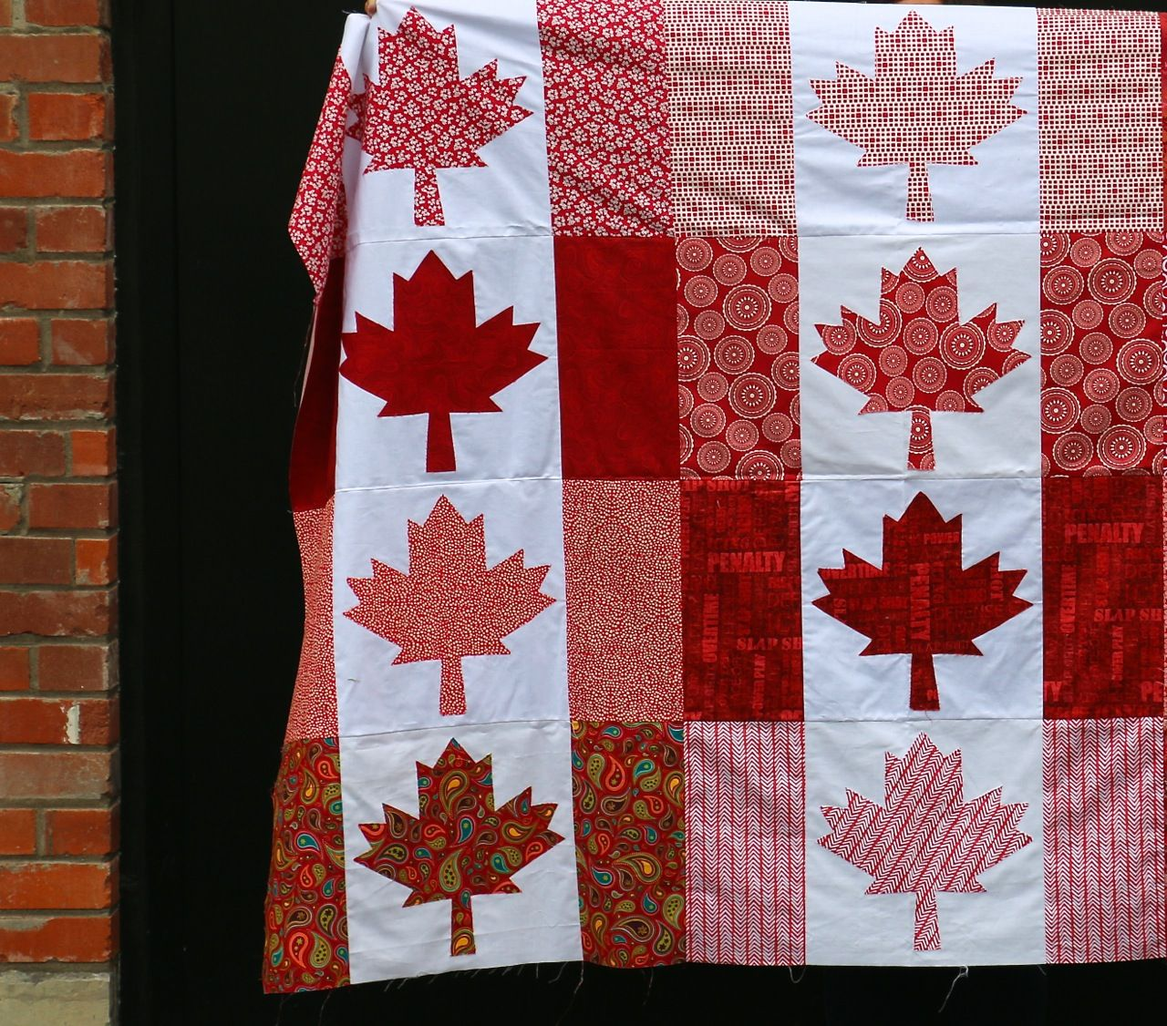 Dining Room Empire Oh Canada Quilt