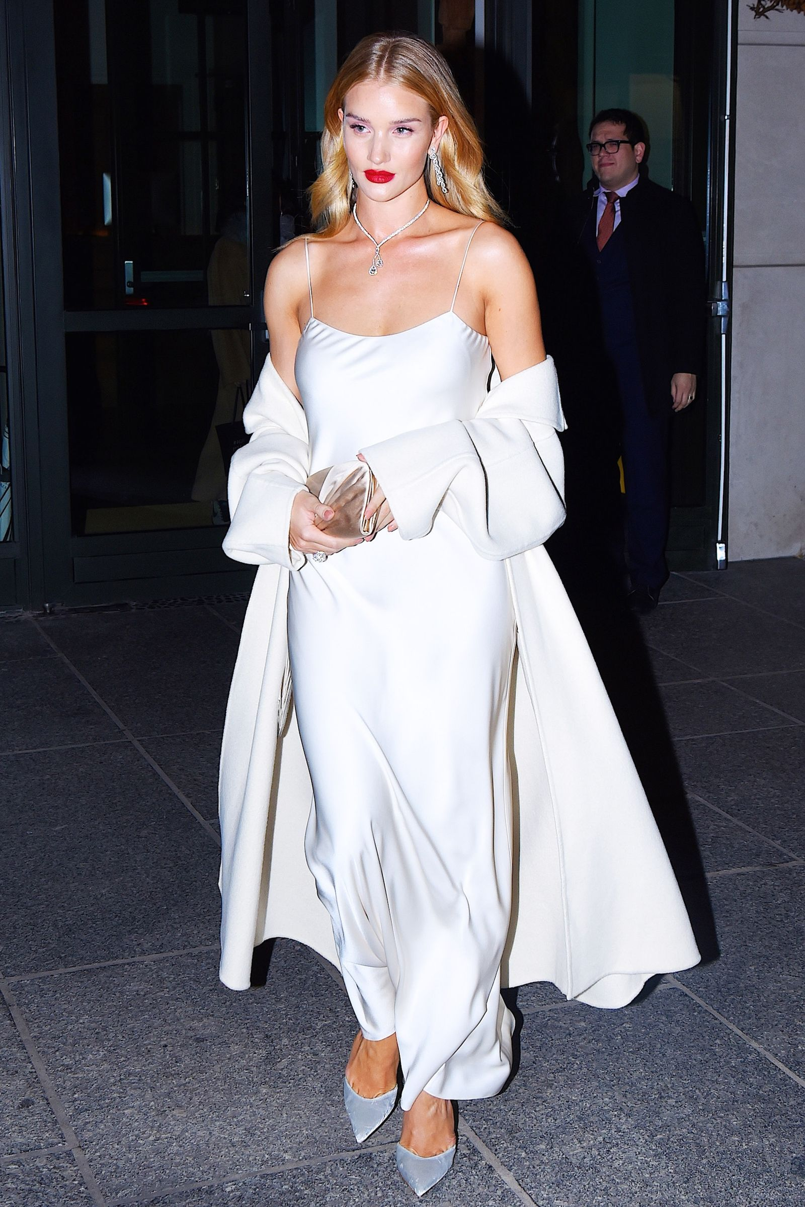 Best Dressed The Week In Outfits Lace Slip Dress White Slip Dress Slip Wedding Dress [ 2400 x 1600 Pixel ]