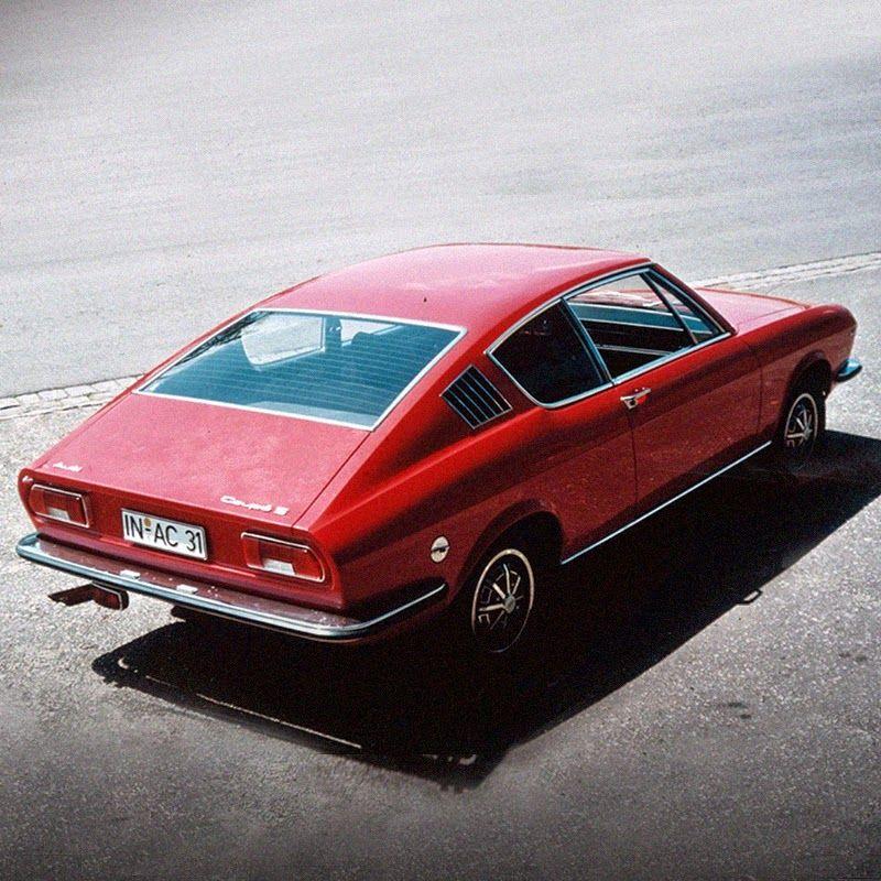 1971 #slopestyle: Audi 100 Coupe S.