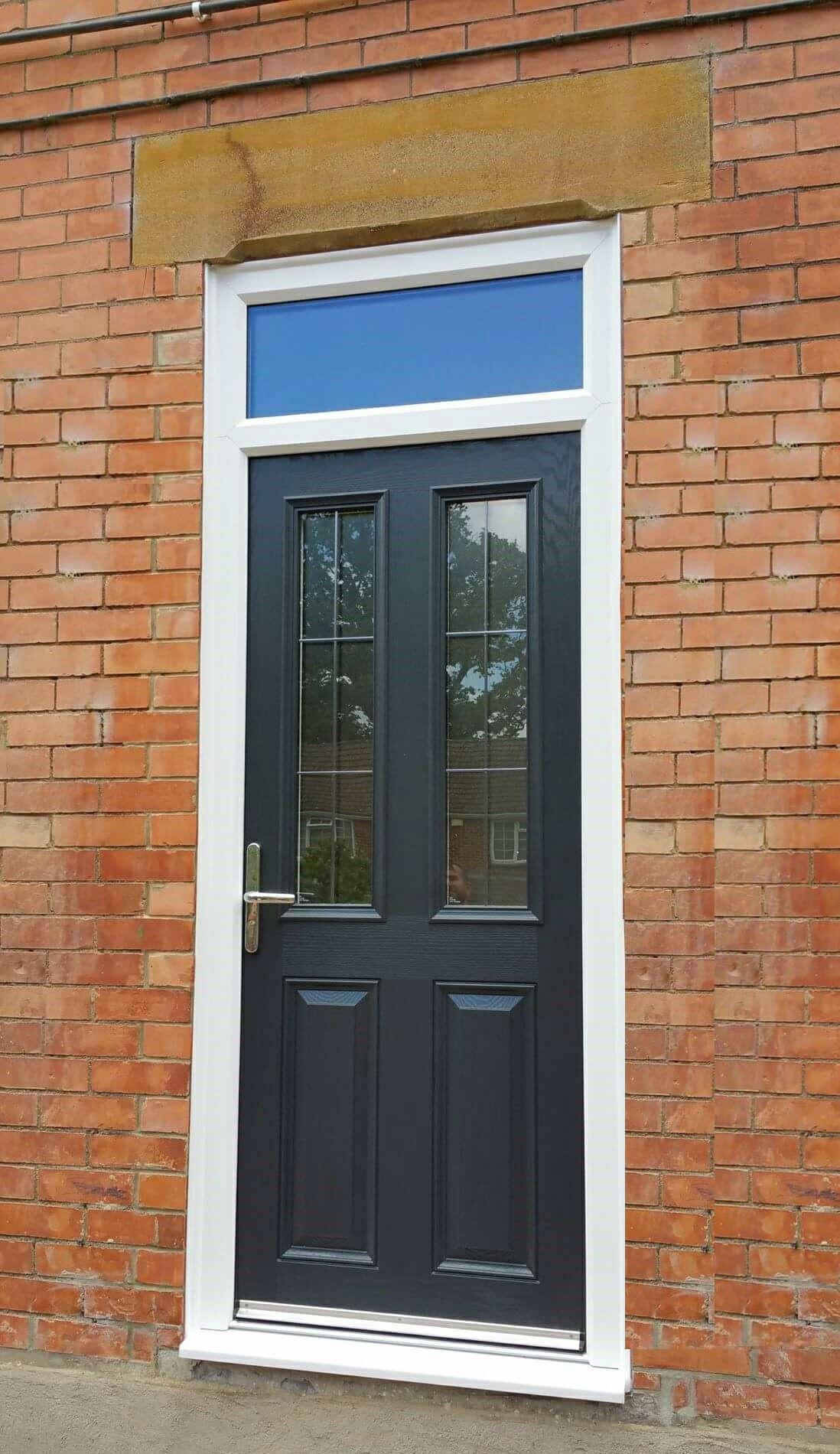 Doors & Simple but elegant #xtremedoor installation in #anthracitegrey ...