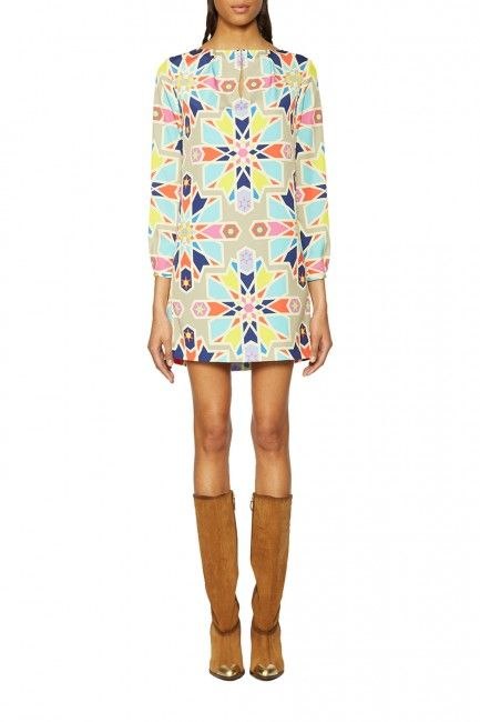 Mara Hoffman LS Shift Dress - amazing for fall!