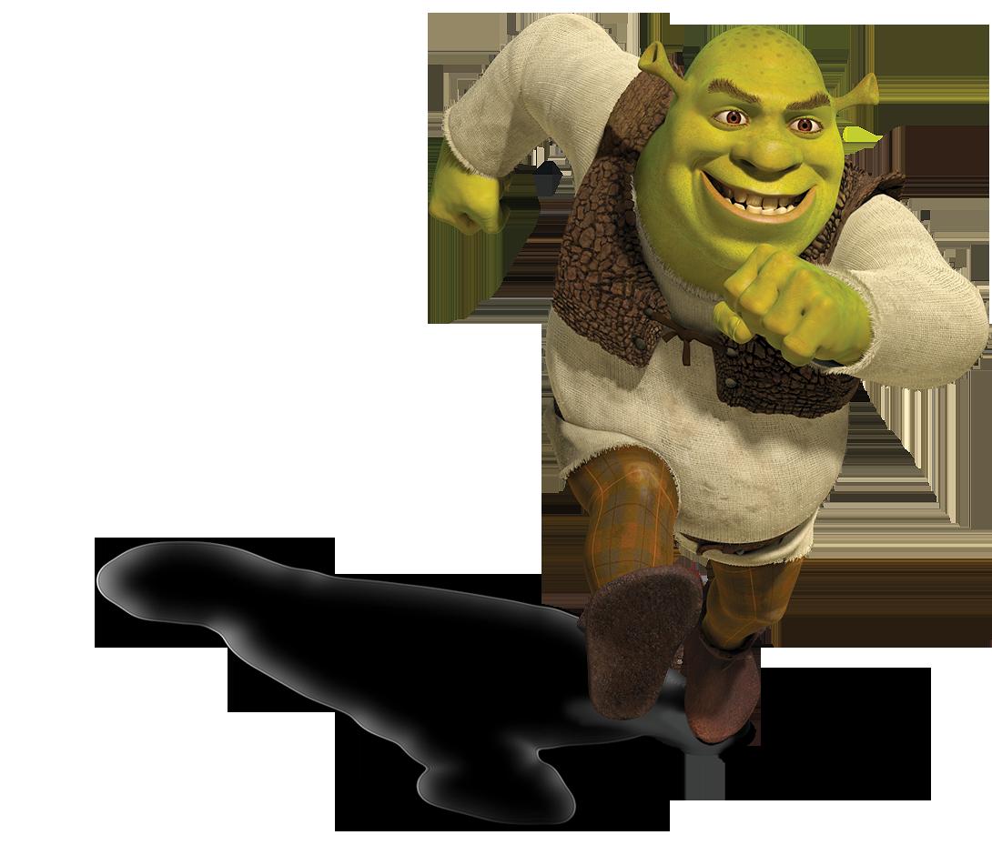 Shrek Running Png Image Shrek Computer Animation Animation