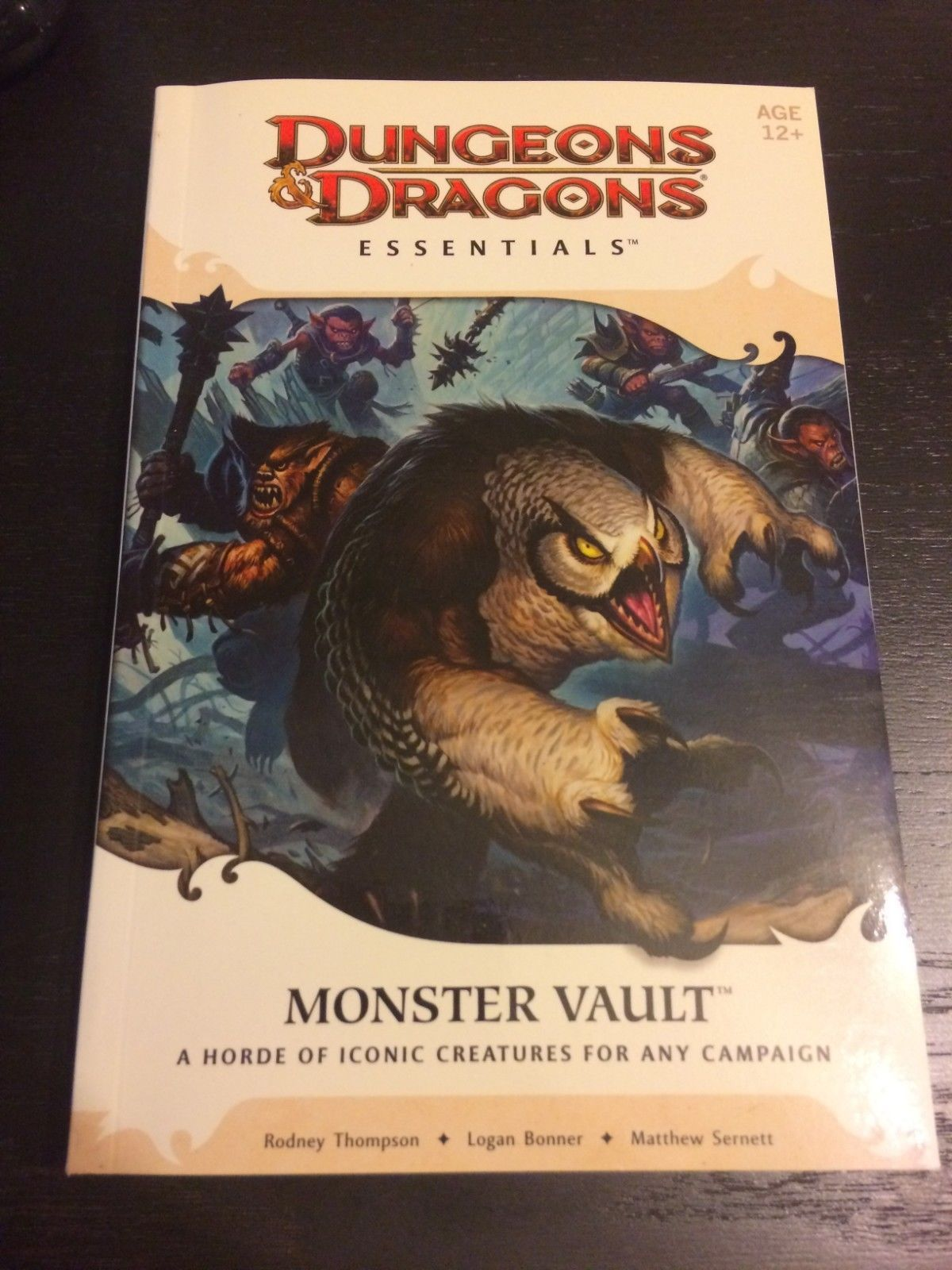 Monster Manuals 158711: Dungeons And Dragons 4Th Edition Essentials -  Monster Vault Book (Dandd 4E) -> BUY IT NOW ONLY: $30 on eBay!