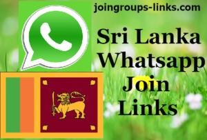 Sri Lanka Whatsapp Groups - Join Sri Lanka Whatsapp Group Links