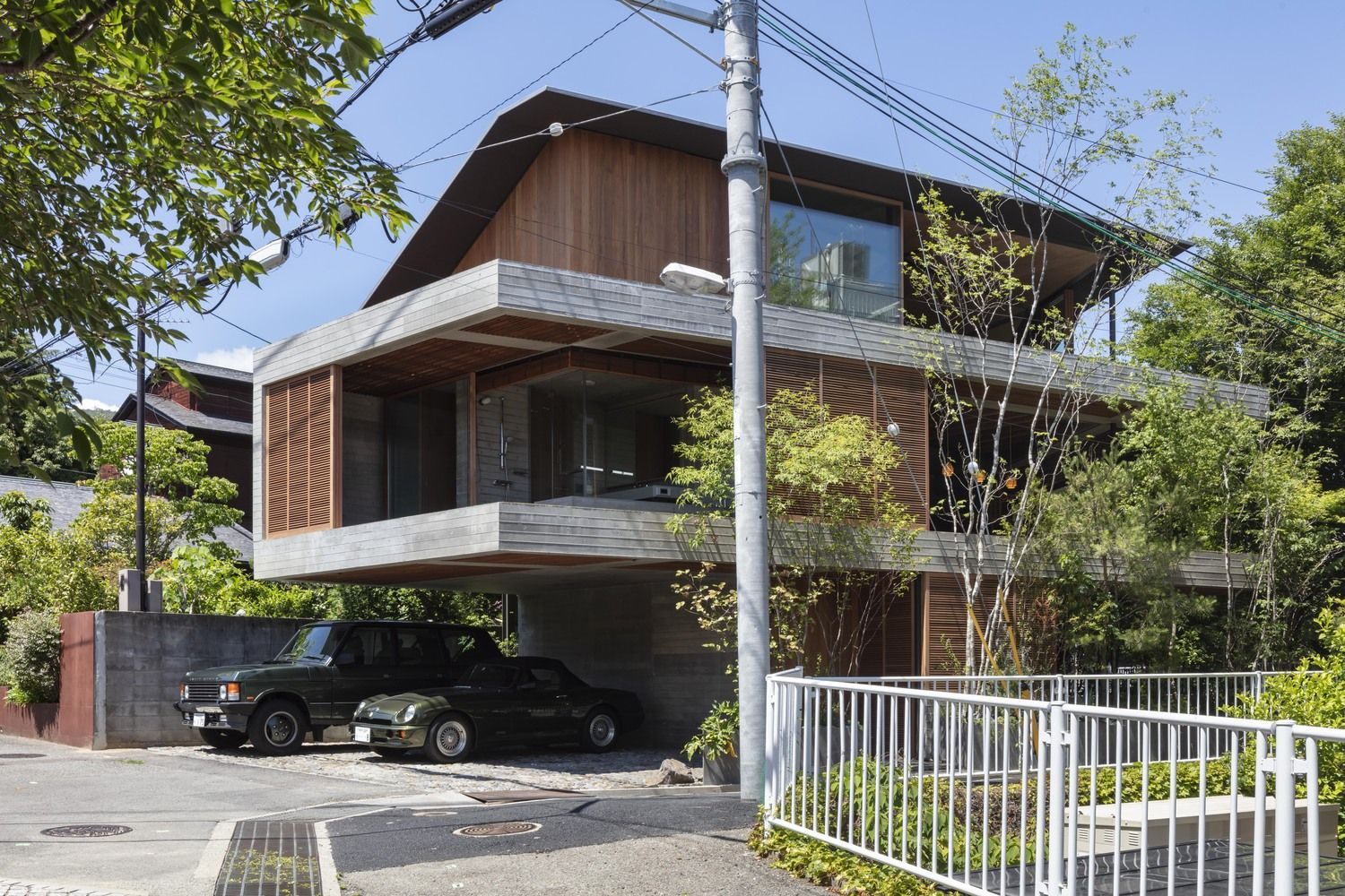 Gallery Of Fuseika House T Square Design Associates 2 Japanese House House House In Nature