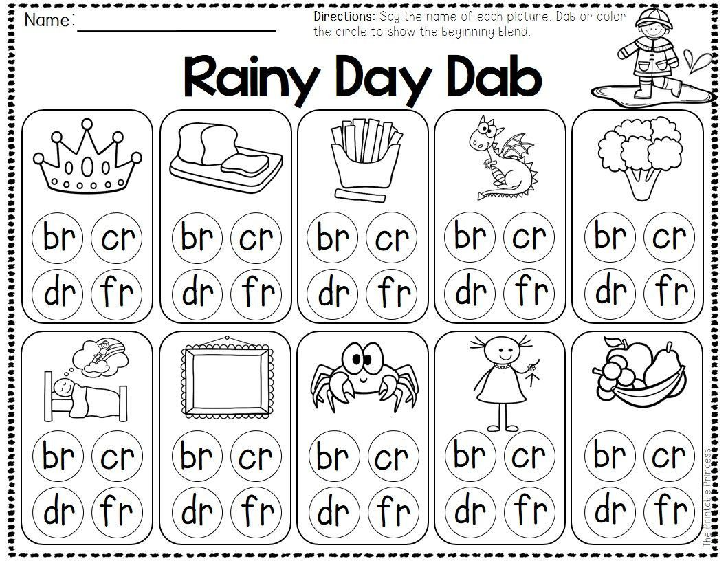 2 Printable Phonics Coloring Worksheets In