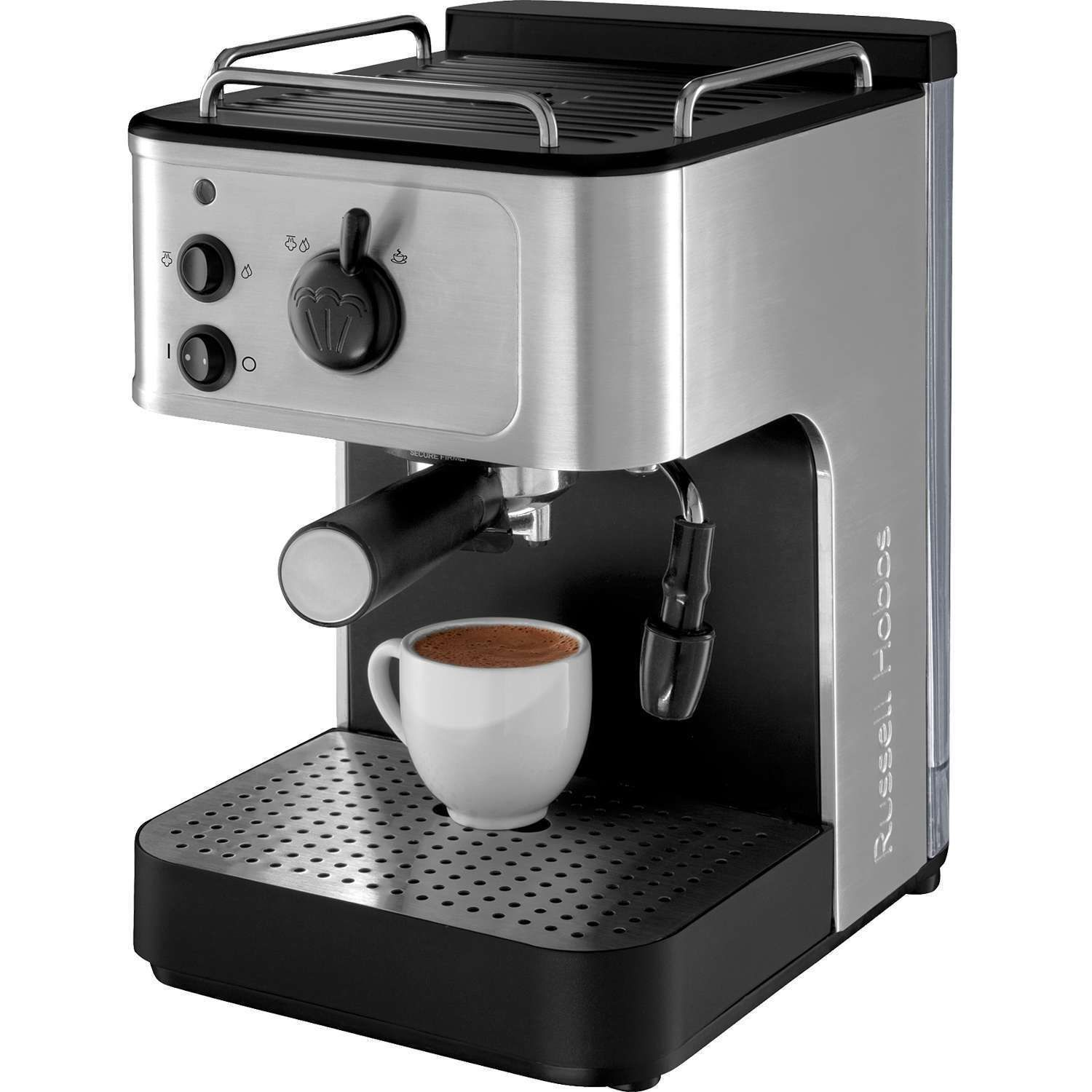 RUSSELL HOBBS 18623 COFFEE MAKER WITH MILK FROTHER eBay