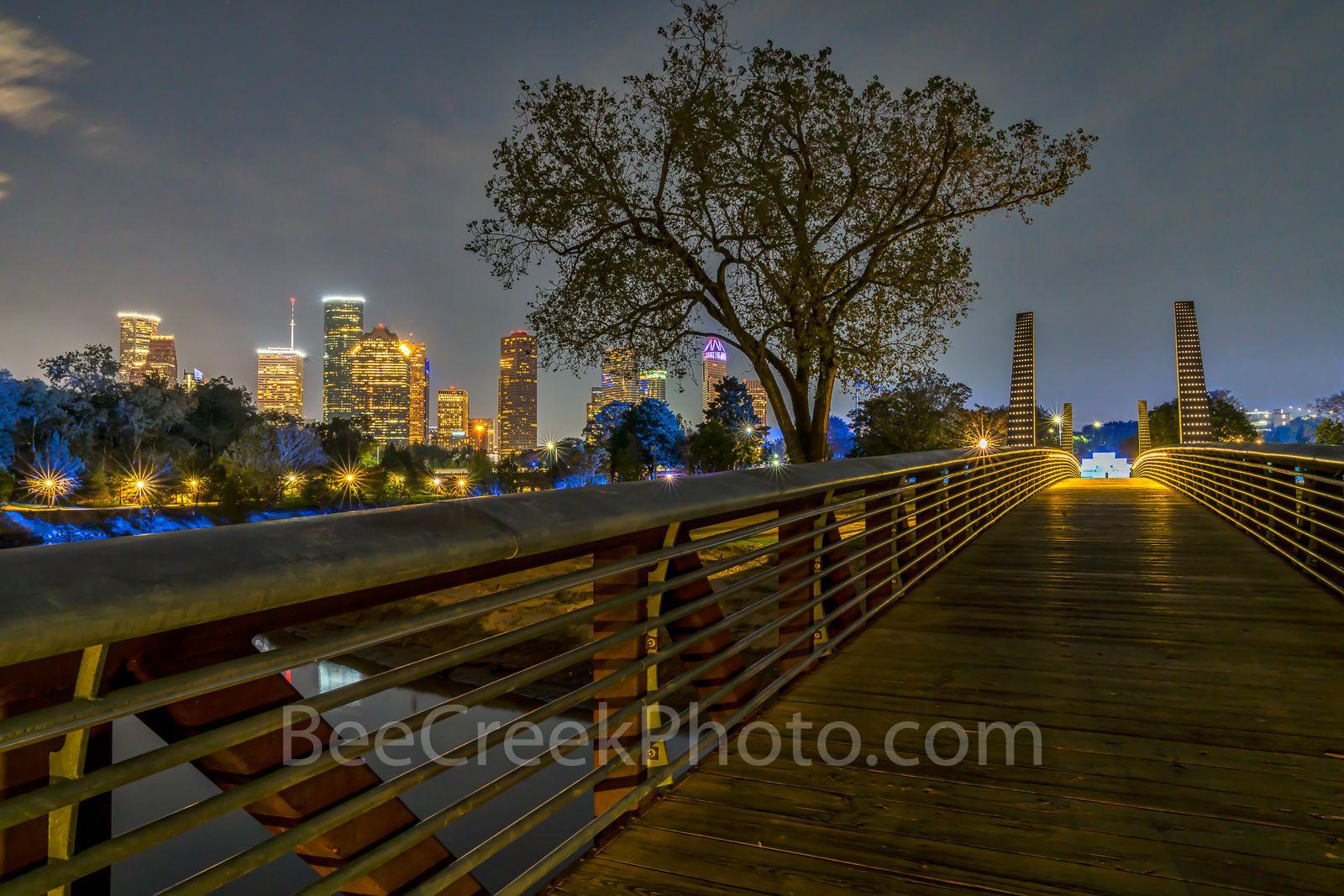 Houston Skyline Over Buffalo Bayou Houston Skyline Aerial Images Landscape Photography