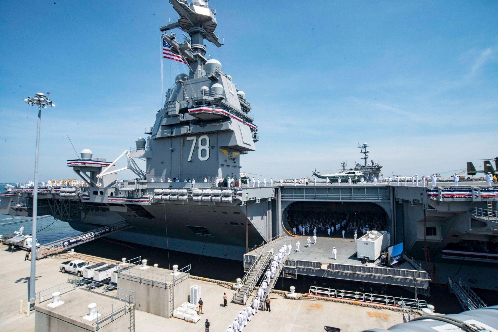 The Navy S New Urinal Free Supercarrier Is Facing A Ton Of Problems Navy Aircraft Carrier Aircraft Carrier Naval Station Norfolk