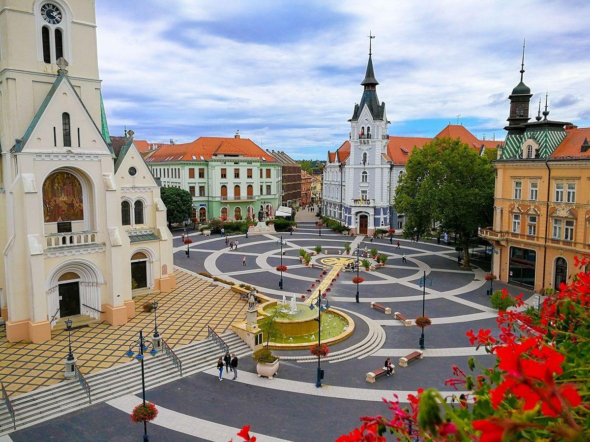 Венгрия капошвар парк сабадшаг фото