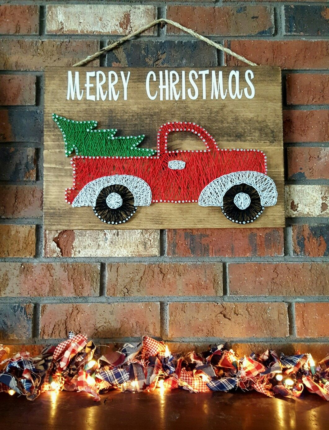 String Art/christmas/fall/decorations/vintage trucks
