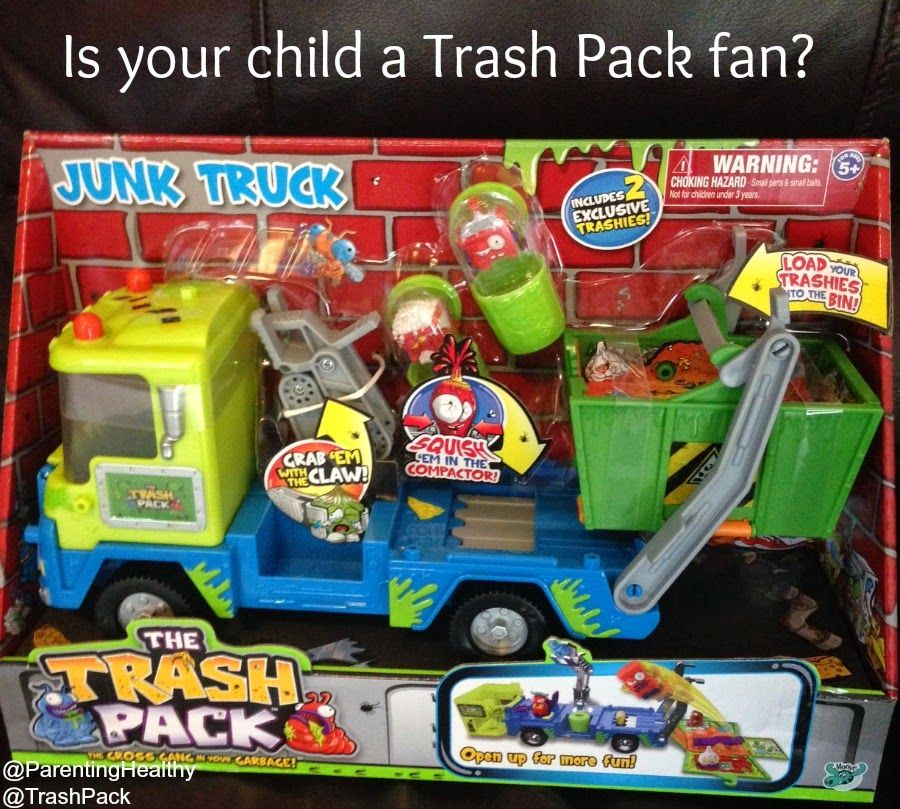 Trash Pack Junk Truck Review from MooseToys Trash pack