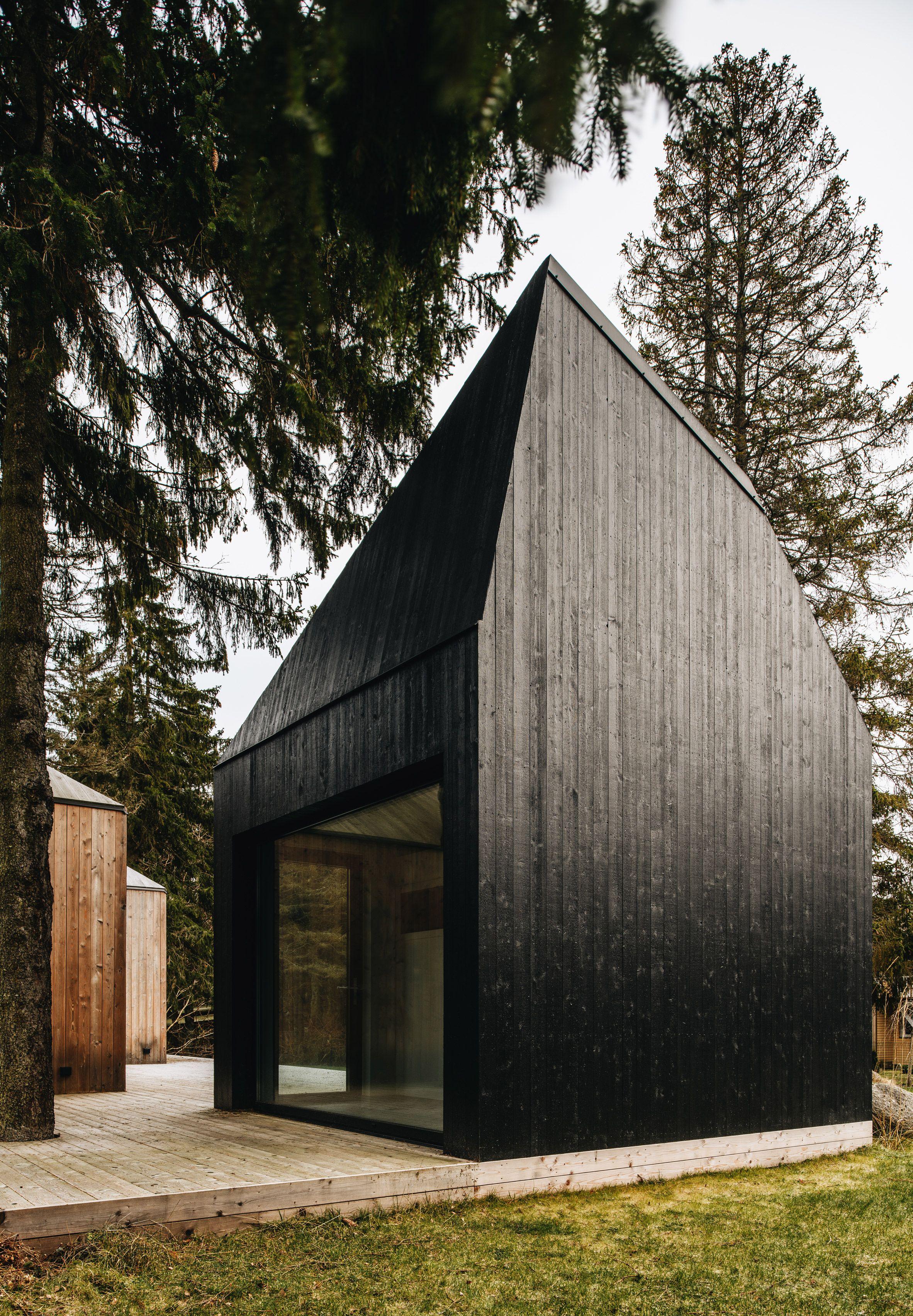 Summerhouse In Muraste By Kuu Arhitektid Design Modern