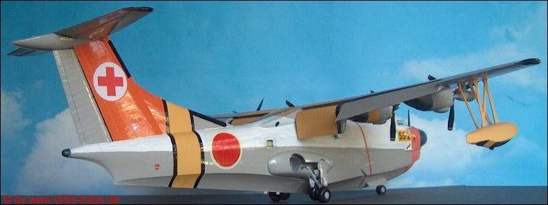 Flugzeugmodell in 1:72, Japan - Shin-Meiwa US-1 Amphibium (Hasegawa K-08)