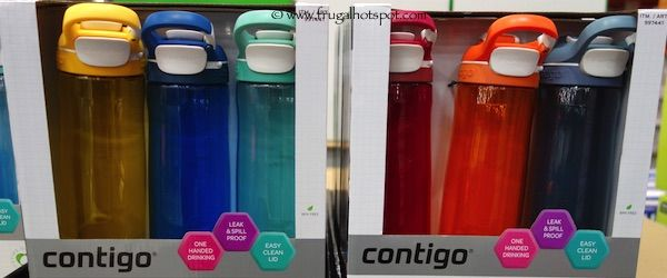 Contigo Cortland 3-Pack Water Bottle Set  #Costco