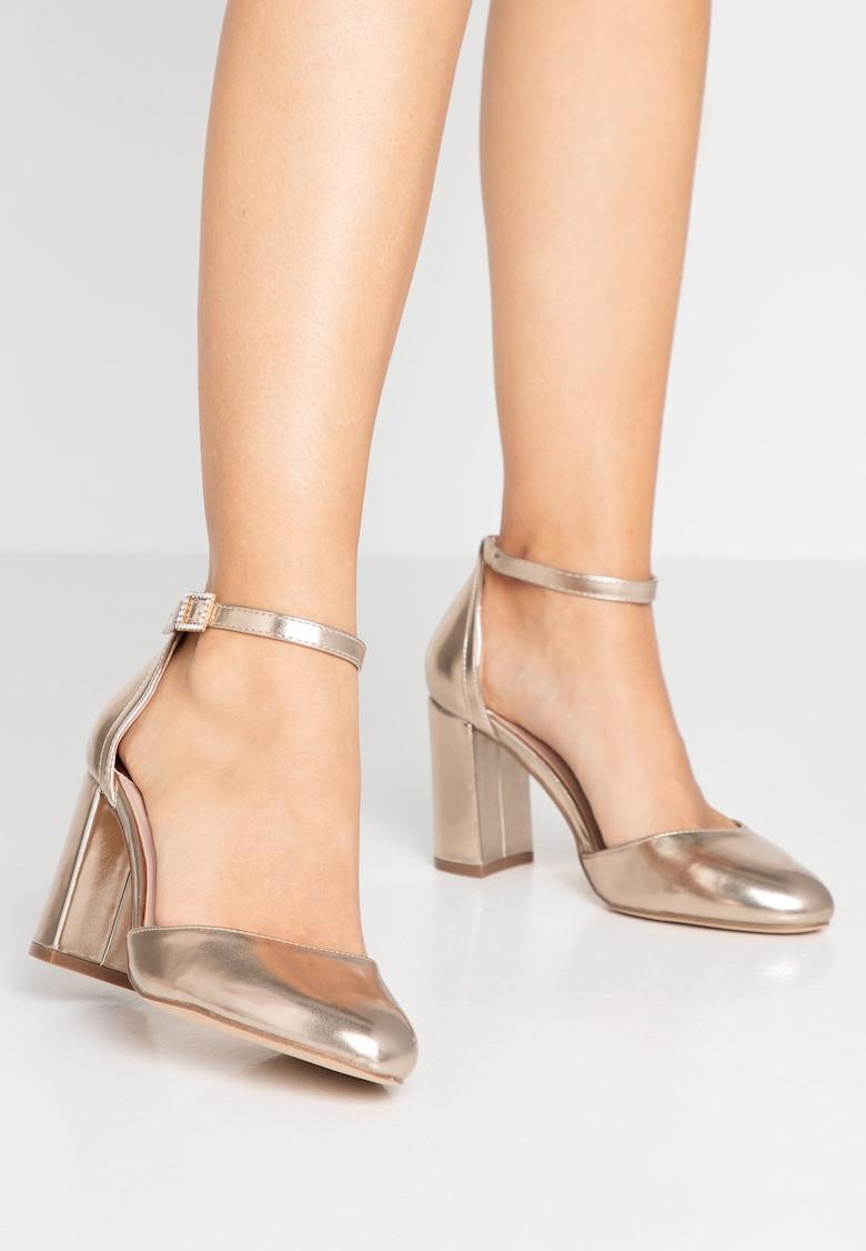 Dorothy Perkins Wide Fit Wide Fit Debby Szpilki Gold Zalando Pl Graduation Shoes Gold Pumps Shoes