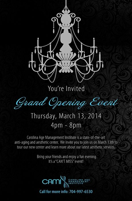 Grand opening Ribbon cutting invitation design template royalty – Grand Opening Party Invitations
