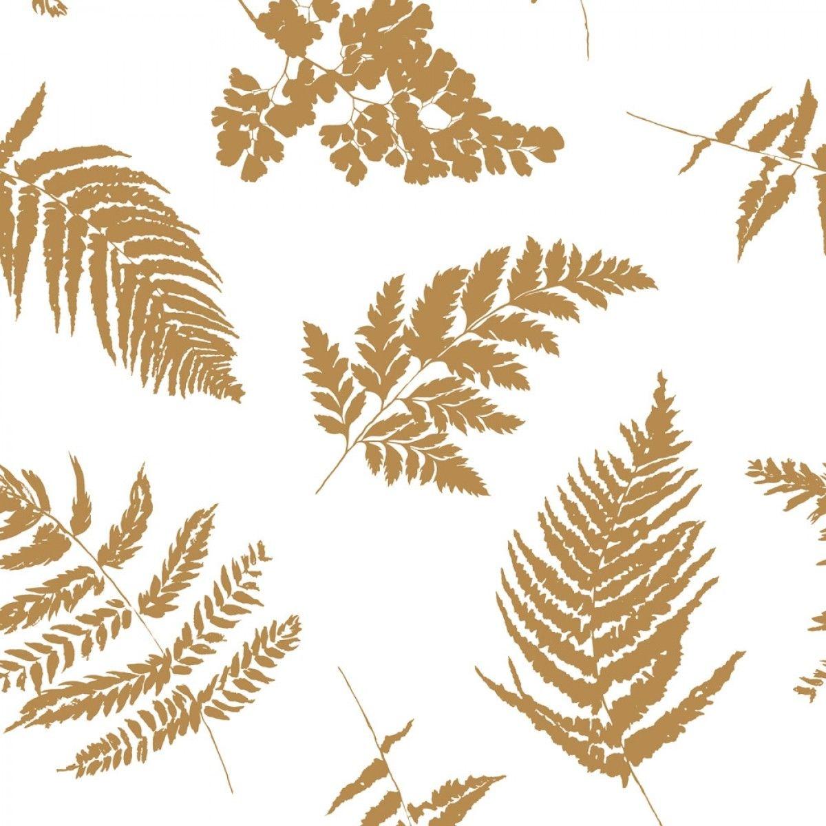 Fern Honeycomb Wallpaper Textured Wallpaper Leaf Prints