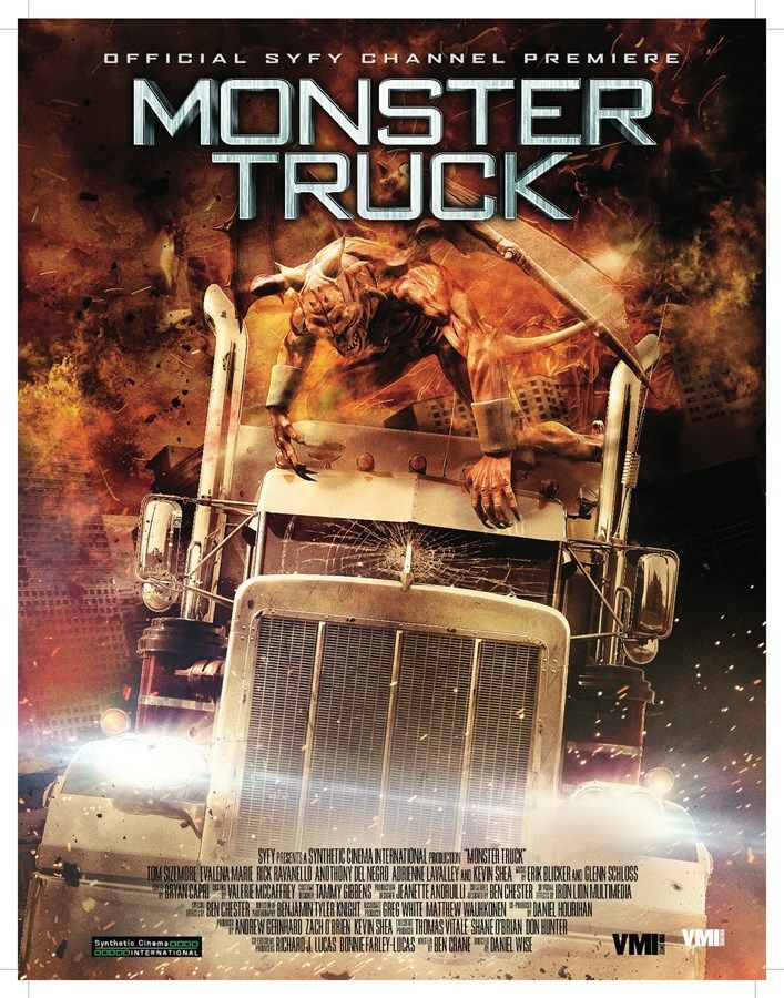 Monster Truck horror movies, Hd movies, Monster