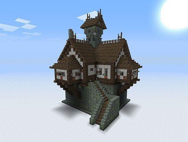Medieval Minecraft Medieval Minecraft Houses Minecraft