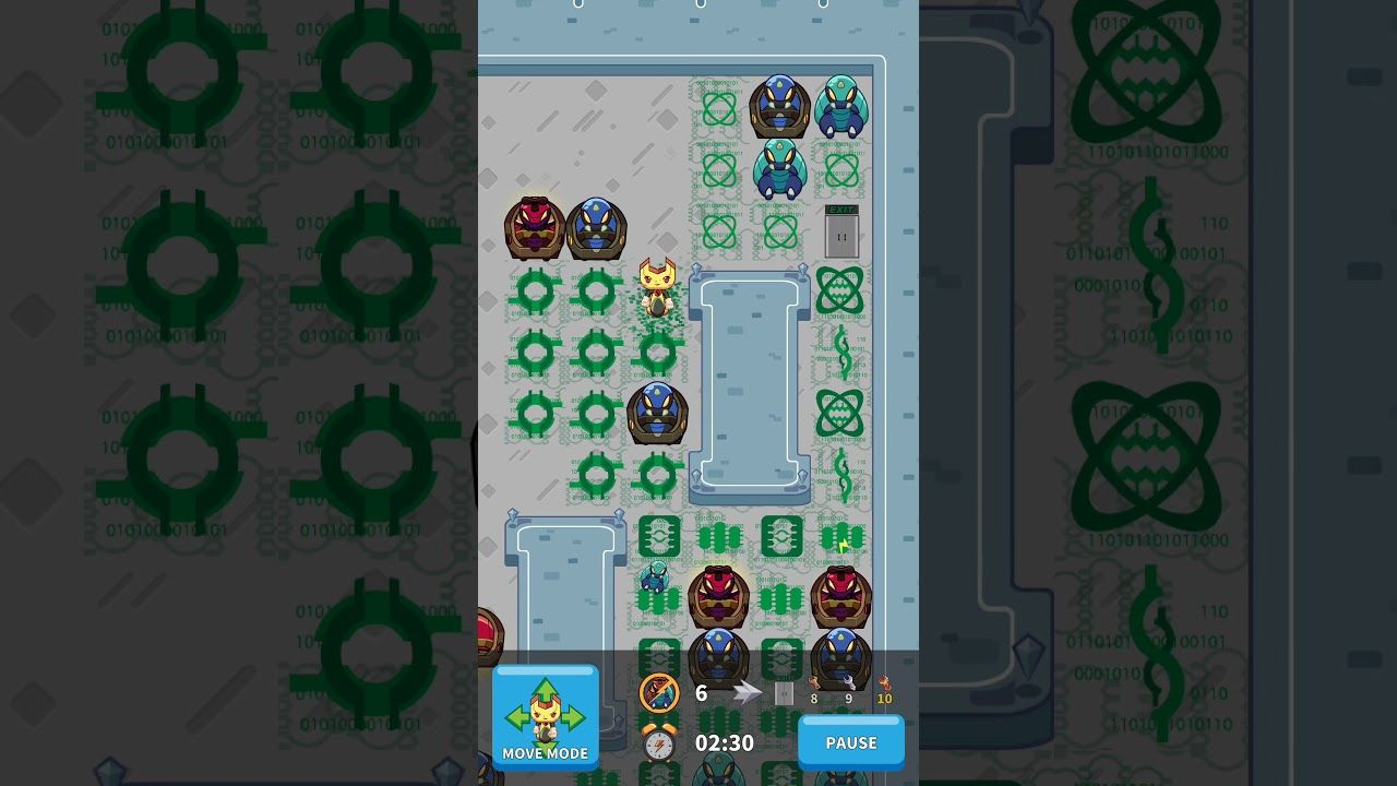 """Debugger The Game : Here's a sneak peak into our game. Don't Miss it.   Run cute spanner in mild action puzzle """"Debugger: The Game""""!  You will enter the world of computer program development to browse source code, search for bugs, and avoid errors!"""
