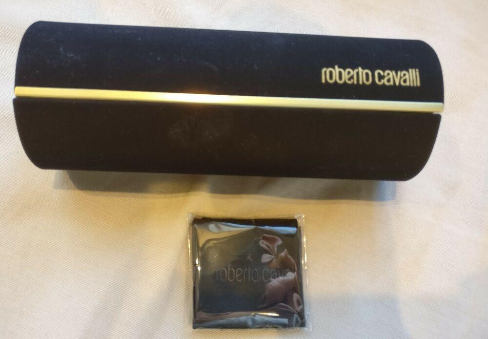 cozy fresh authentic quality store ROBERTO CAVALLI Sunglasses CASE Cylinder Original Protect ...