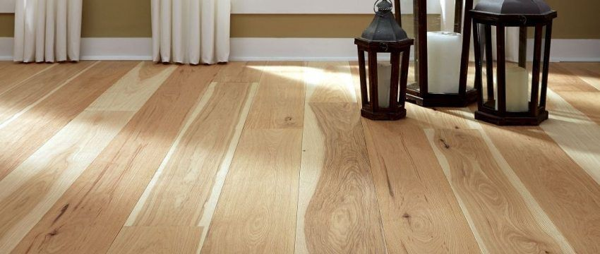 Design considerations for buying a wide plank hickory