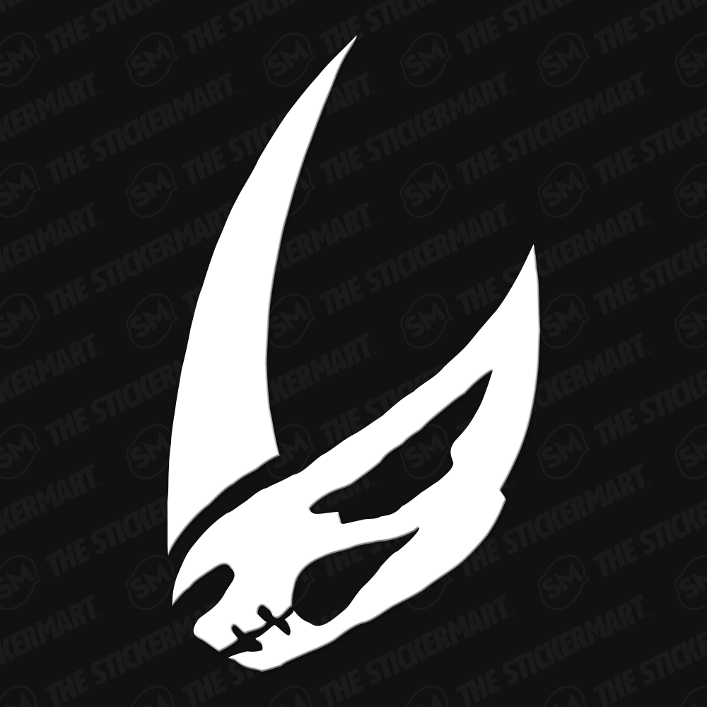 Mandalorian Mudhorn Symbol Vinyl Decal Star Wars Symbols Mandalorian Mandalorian Tattoo