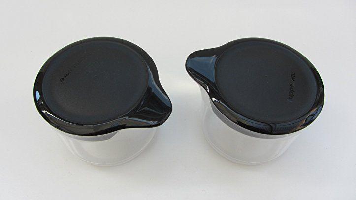 Tupperware(c) TupperTime, Milch  Zucker- tupperware aufbewahrung - dunkelblaue kche