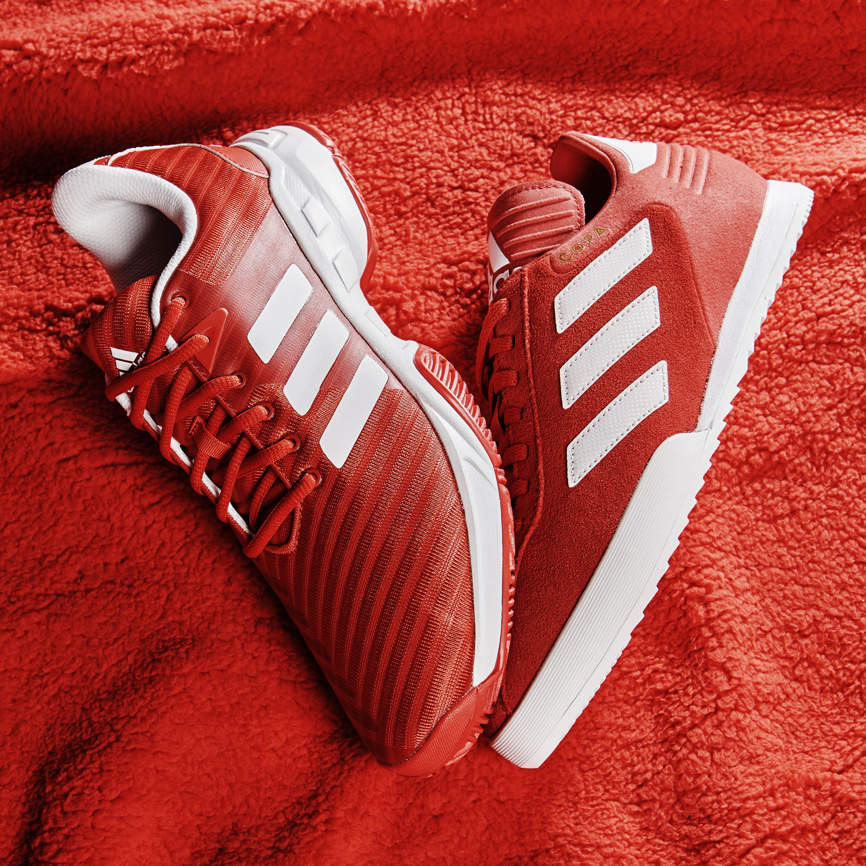 b2930b08e420bf Exclusive style in super soft suede. The adidas Copa Super Suede trainers  are an exclusive