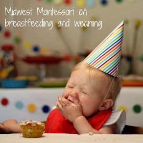 Confessions of a Montessori Mom blog: Amy of Midwest Montessori on breastfeeding and weaning!