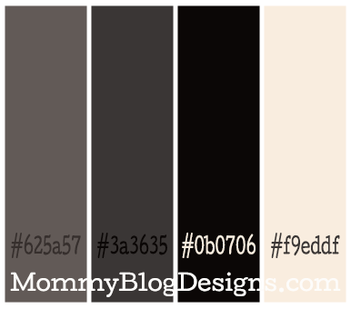 This is a classy sophisticated color scheme the color for Sophisticated color palette