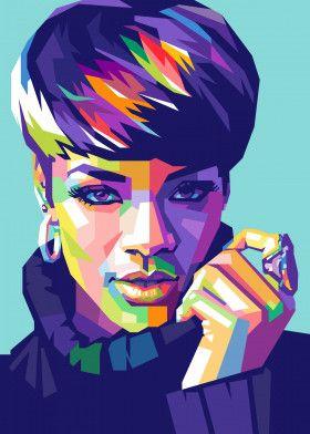 Rihanna | Displate thumbnail