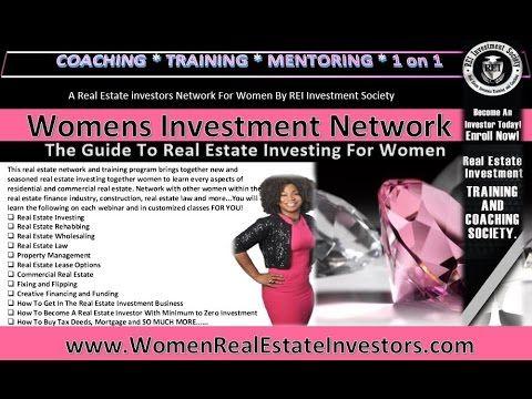 Women S Real Estate Investors Club Real Estate Investing For Women Investing Real Estate Investor Real Estate Investing