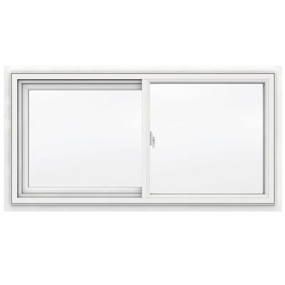 Jeld Wen Windows 3500 Series Vinyl Slider Window 48 Inch