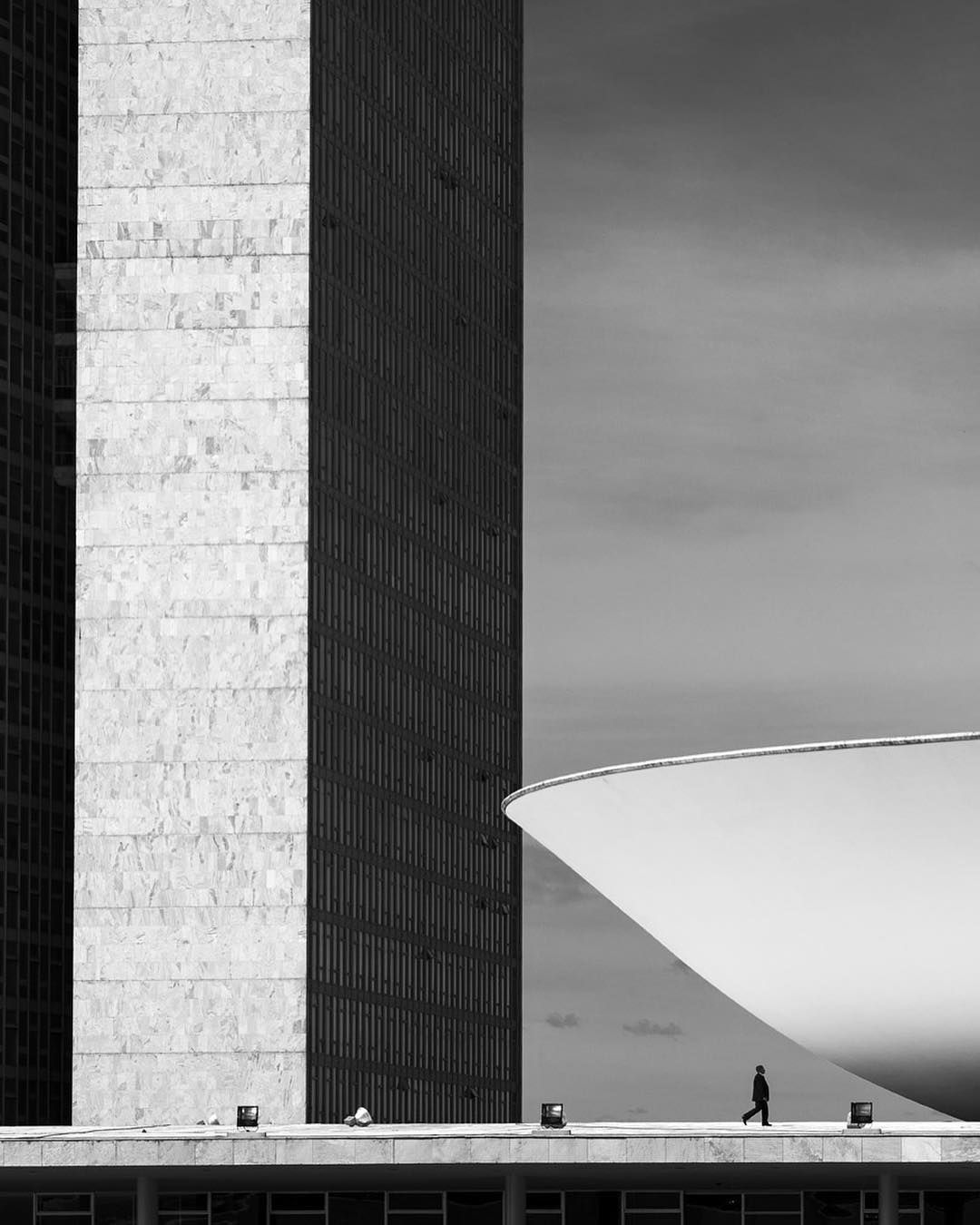 """4,100 Likes, 22 Comments - ARCHITECTURE HUNTER (@architecture_hunter) on Instagram: """"#architecture_hunter  I like this shot by Haruo Mikami  Oscar Niemeyer  Via: @archdailybr's website"""""""