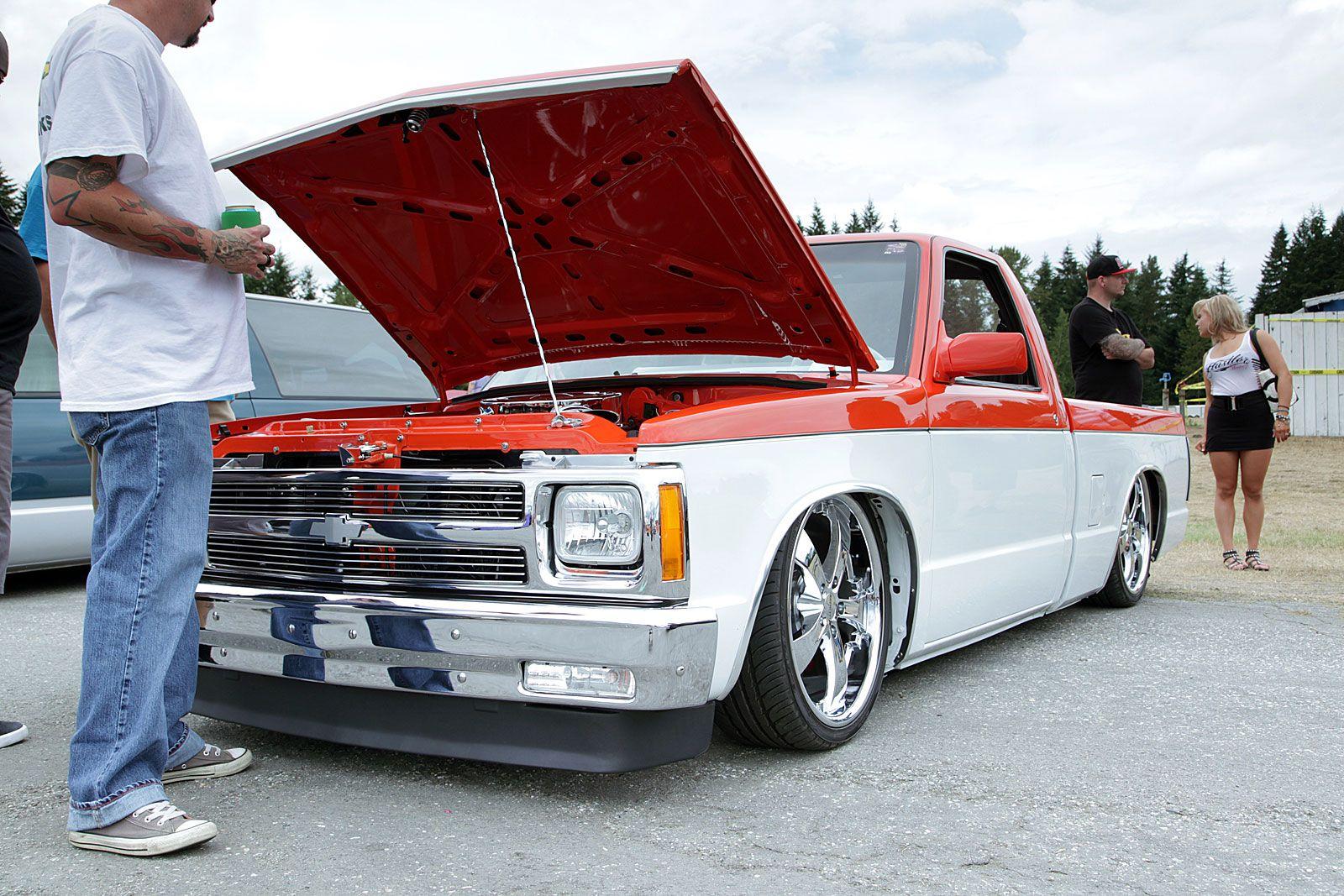 Slammed Chevy s10 | Chevy S10 & GMC S15 Pickups! | Pinterest ...